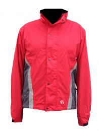 Men's Extreme Waterproof Jacket, Red
