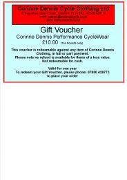 Corinne Dennis Gift Voucher