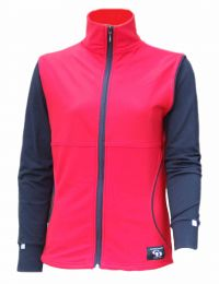 Ladies Body Warmer, Red
