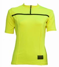 Ladies Flo yellow Biking Jersey