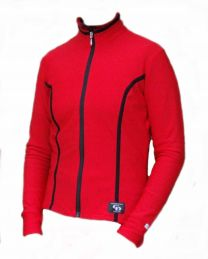 Ladies Thermo Biking Jacket, Red
